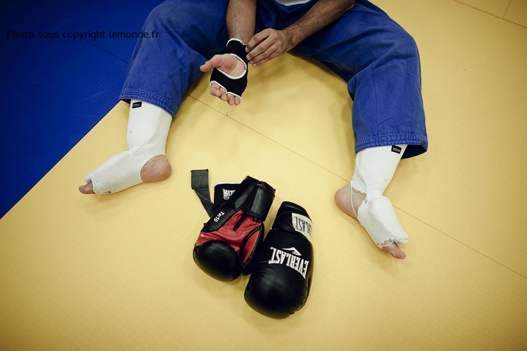 Chatelaillon, dans le dojo du Judo, on pratique la MMA