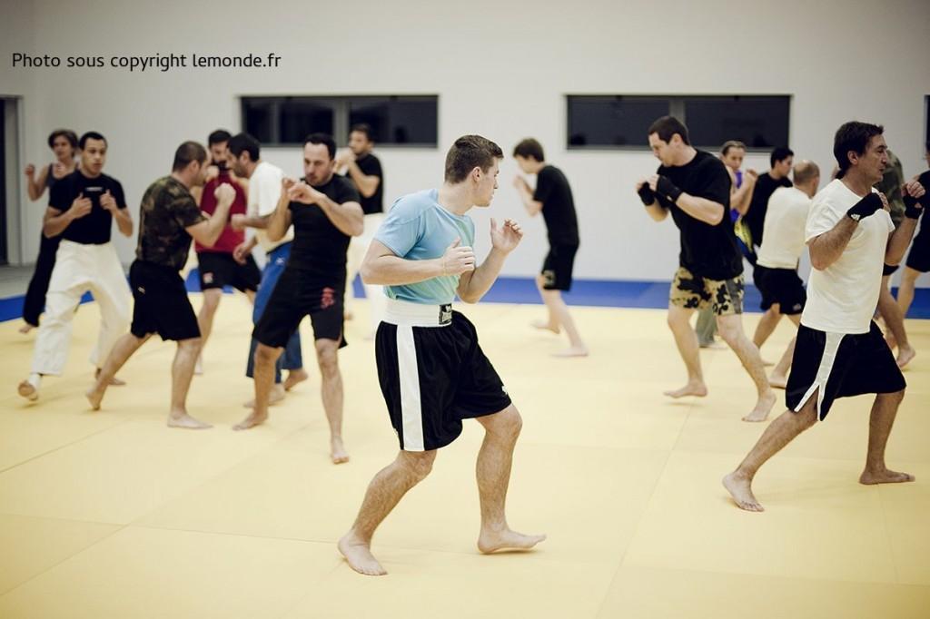 Chatelaillon, dans le dojo du Judo, on pratique la MMA