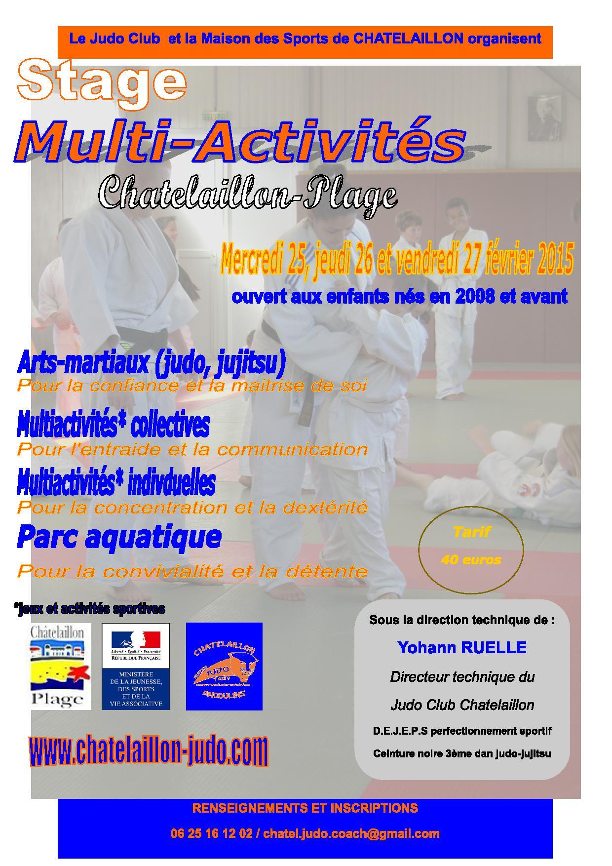Chatelaillon tigers les arts martiaux pour tous page for Arts martiaux pdf
